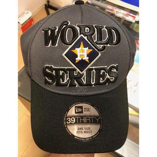 ニューエラー(NEW ERA)の【新品/未使用】MLBアストロズのWorldSeries優勝時の記念帽子(記念品/関連グッズ)