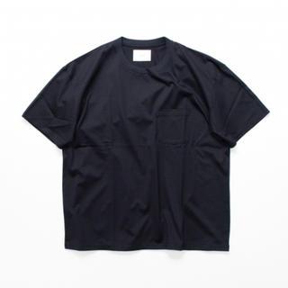 ワンエルディーケーセレクト(1LDK SELECT)のstein OVERSIZED POCKET TEE NAVY Lサイズ(Tシャツ/カットソー(半袖/袖なし))