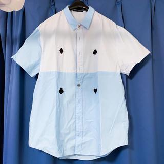 ミルクボーイ(MILKBOY)のMILKBOY MILK BOYミルクボーイ トランプ柄シャツ(シャツ)