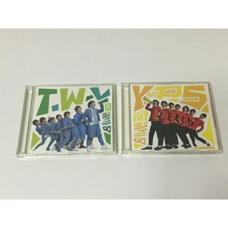 カンジャニエイト(関ジャニ∞)の「T.W.L/イエローパンジーストリート」 CD+DVD 2点セット(ポップス/ロック(邦楽))