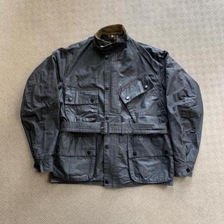 バーブァー(Barbour)のbarbour international suit 黄タグ(ライダースジャケット)
