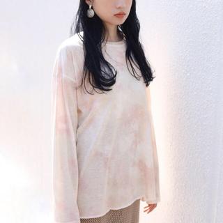 ワンアフターアナザーナイスクラップ(one after another NICE CLAUP)のタイダイT❤︎新作(Tシャツ/カットソー(七分/長袖))
