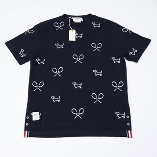 トムブラウン(THOM BROWNE)のThom Brown トムブラウン Tシャツ ブラック(Tシャツ/カットソー(半袖/袖なし))
