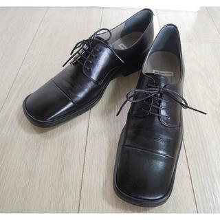 オゥバニスター(AU BANNISTER)のAu BANNISTERオゥバニスター レースアップシューズ 本革 24.5cm(ローファー/革靴)