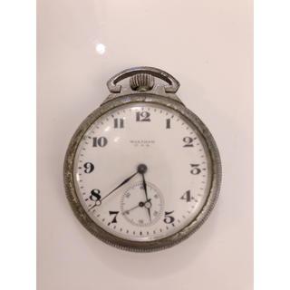 ウォルサム(Waltham)のWALTHAM ウォルサム 懐中時計 手巻き  ジャンク(その他)