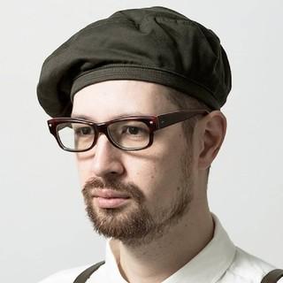 カンビオ(Cambio)のMighty Shine  マイティシャイン   マリンベレー帽(ハンチング/ベレー帽)