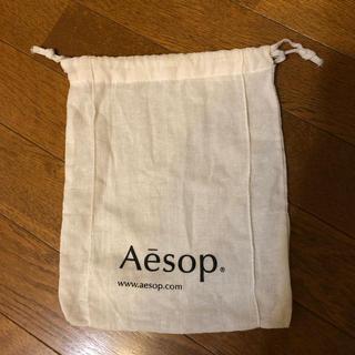 イソップ(Aesop)のイソップ 袋 巾着袋 (ショップ袋)