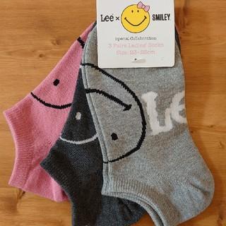リー(Lee)の靴下 3足セット LEE スマイル(ソックス)