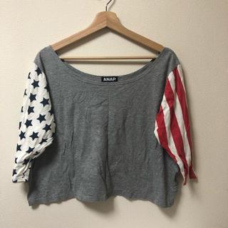 アナップラティーナ(ANAP Latina)のANAP 国旗 七分袖 Tシャツ(Tシャツ(半袖/袖なし))