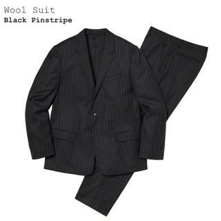 シュプリーム(Supreme)のsupreme wool suit Mサイズ(セットアップ)