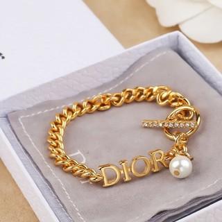 ディオール(Dior)の♥セール DIOR ブレスレット 真珠・クリスタル飾り(ブレスレット/バングル)