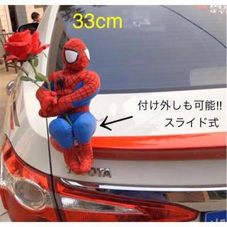 ディズニー(Disney)のスパイダーマン 薔薇抱き人形✨付け外し可能! アメコミ マーベル USJ 64(アメコミ)