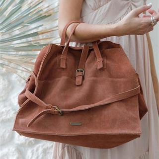 ルームサンマルロクコンテンポラリー(room306 CONTEMPORARY)のSuede Real Leather Hand Bag(マザーズバッグ)