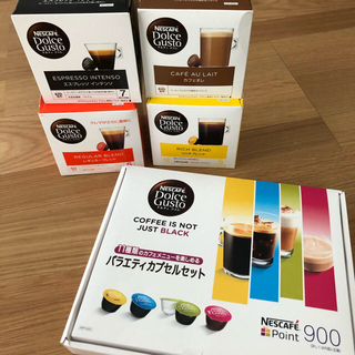 Nestle - ネスカフェ ドルチェグスト カプセルセット