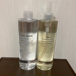 MUJI (無印良品) - 無印 化粧水 クレンジング 400ml
