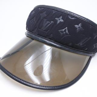 ルイヴィトン(LOUIS VUITTON)のLOUIS VUITTON ルイヴィトン サンバイザー 帽子 CAP 正規(キャップ)