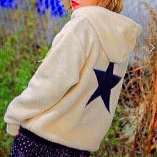 X-girl - 星柄ボアパーカー