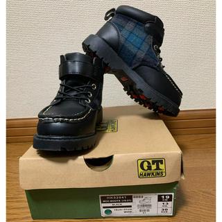 ジーティーホーキンス(G.T. HAWKINS)の【新品未使用】GT HAWKINS  キッズブーツ 19cm(ブーツ)