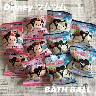 ディズニー(Disney)の【新品!】Disney バスボール 2種類 10こセット 入浴剤 まとめ売り(入浴剤/バスソルト)