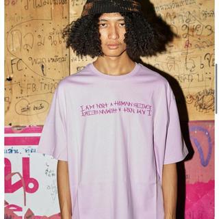 ボウダンショウネンダン(防弾少年団(BTS))のi am not a human being Tシャツ 紫 パープル(Tシャツ/カットソー(半袖/袖なし))