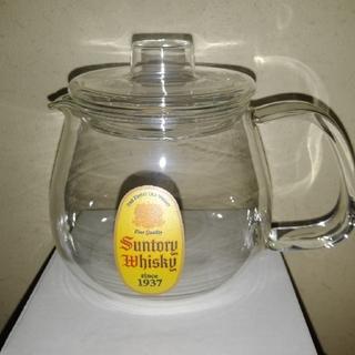 サントリー - 非売品、角瓶ホットレモンポット1個、角瓶用耐熱ホットグラス3個セット!