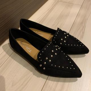 ダイアナ(DIANA)のFabby Fabby 24cm スタッドローファー(ローファー/革靴)