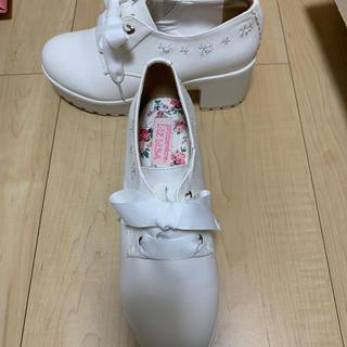 リズリサ(LIZ LISA)のLIZLISA厚底靴✨(ローファー/革靴)
