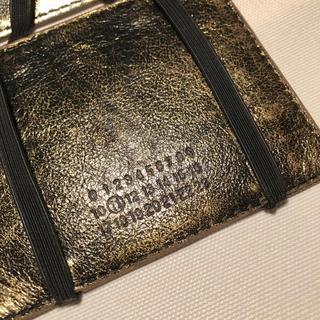 マルタンマルジェラ(Maison Martin Margiela)のMaisonMartinMargiela マルジェラ カードケース ショッパー付(マネークリップ)