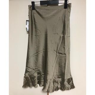 カルバンクライン(Calvin Klein)のCalvin Klein   ひざ丈スカート 新品 サイズ4(ひざ丈スカート)