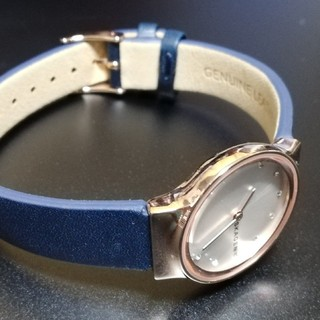 SKAGEN - 新品 SKAGENスカーゲン レディース腕時計 レザー 定価15,400