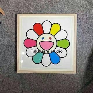 Multicolor Face yellow 村上隆 版画 (版画)