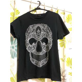 アレキサンダーマックイーン(Alexander McQueen)のXS アレキサンダーマックイーン スカルTシャツ(Tシャツ/カットソー(半袖/袖なし))