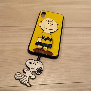 新品未使用 スヌーピー iPhone case アイフォン(iPhoneケース)