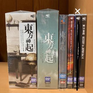 トウホウシンキ(東方神起)の東方神起 All About DVD LIVE 写真集 バラ売り可能 初回限定盤(K-POP/アジア)