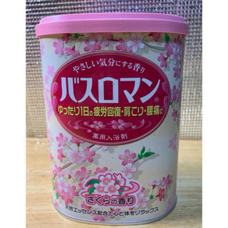 アースセイヤク(アース製薬)のバスロマン さくらの香り(ケース無し発送)(入浴剤/バスソルト)