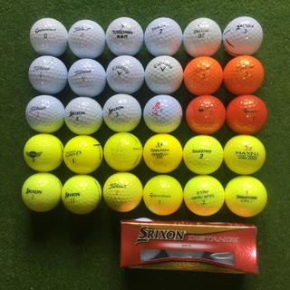 タイトリスト(Titleist)のゴルフボール(良品ロスト+新球)まとめ売り 33球(その他)