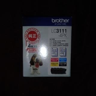 ブラザー(brother)の【新品未開封】2022/06 ブラザー brother LC-3111-4PK (オフィス用品一般)