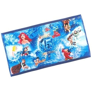 ディズニー(Disney)の【専用】ディズニーシー♡15周年♡ワイドバスタオル(キャラクターグッズ)