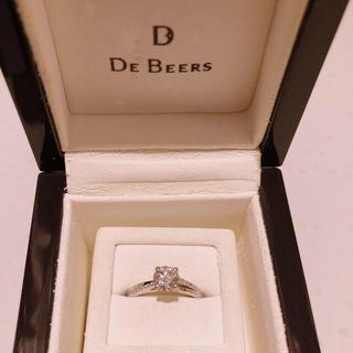 デビアス(DE BEERS)のさき様専用⭐︎DE BEERS  (G IA鑑定書付)(リング(指輪))