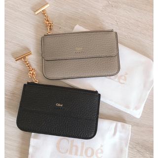 【na様】Chloe♡フラグメントケース♡マルチカードケース♡ブラック(コインケース)