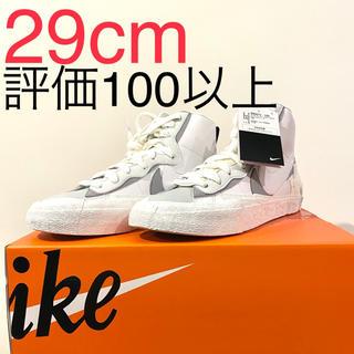 ナイキ(NIKE)のNIKE sacai Blazer Mid White Grey 29cm(スニーカー)