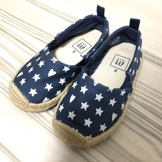 ベビーギャップ(babyGAP)の美品!【babygap】ベビーギャップ 靴 スリッポン サイズ6 13.5cm(スリッポン)
