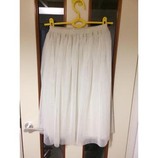 サルース(salus)のSalus ふわふわチュールスカート(ロングスカート)