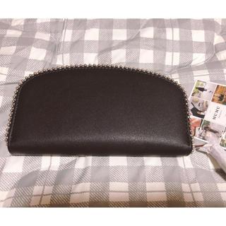 シマムラ(しまむら)のmumuさんコラボ 長財布 ブラック(財布)
