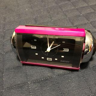 セイコー(SEIKO)のPearl様専用 目覚まし時計 SEIKO RAIDEN 大音量ベル(置時計)