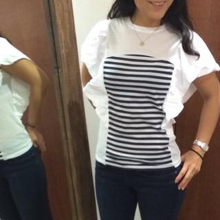 ドゥロワー(Drawer)のボーダーズアットバルコニーTシャツ36(Tシャツ(半袖/袖なし))