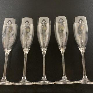 ドンペリニヨン(Dom Pérignon)のドンペリ スモールフルートグラス5脚(グラス/カップ)