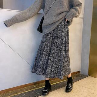エンビールック(ENVYLOOK)の韓国 スカート ロングスカート 花柄スカート gogosing ENVYLOOK(ロングスカート)