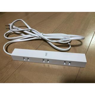 エレコム(ELECOM)のエレコム 見せるインテリア電源タップ roo't(ルオット) 6個口 2.5m(その他)