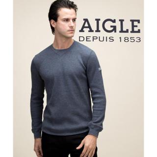 エーグル(AIGLE)の【美品】AIGLE 吸汗速乾 DFTワッフルカットソー(Tシャツ/カットソー(半袖/袖なし))